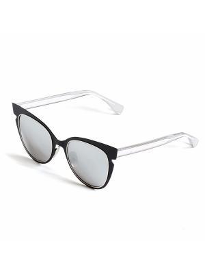 Солнцезащитные очки Selena. Цвет: белый, черный