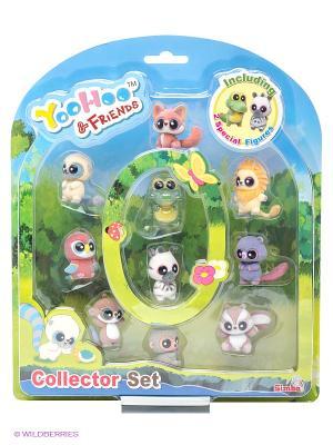 Набор 10 шт. фигурки YooHoo&Friends, 5 см, на блистере, 6/18 Simba. Цвет: зеленый