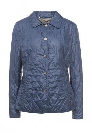Куртка утепленная Husky. Цвет: синий