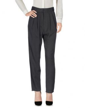 Повседневные брюки DR. DENIM JEANSMAKERS. Цвет: свинцово-серый