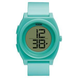 Часы  Time Teller Digi Light Blue Nixon. Цвет: голубой