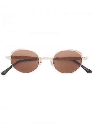 Солнцезащитные очки M3016 Matsuda. Цвет: коричневый