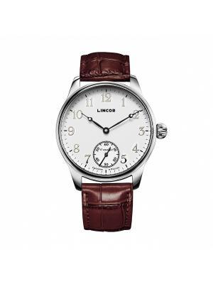 Часы LINCOR. Цвет: коричневый, серебристый