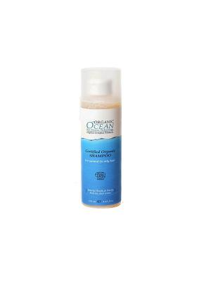 Organic Ocean, Шампунь для нормальных и жирных волос, 250 мл Ocean. Цвет: белый