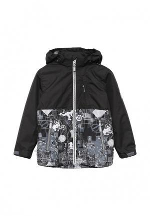 Куртка утепленная Huppa. Цвет: черный