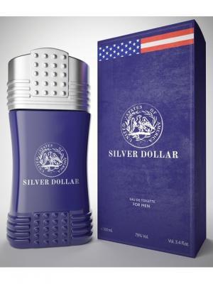Монеты М Silver dollar туалетная вода 100 мл ТД Покровка. Цвет: синий
