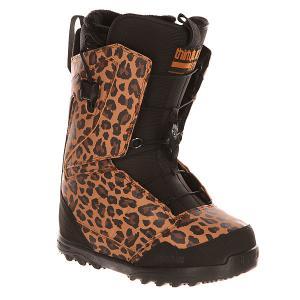 Ботинки для сноуборда женские  Z Lashed Ft Animal Thirty Two. Цвет: черный,коричневый