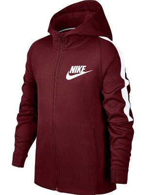 Куртка B NSW JKT TRIBUTE Nike. Цвет: красный