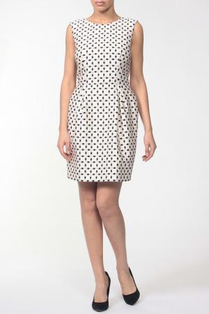 Платье CATERINA GATTA. Цвет: белый