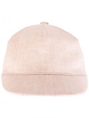 Фуражка жокея Super Duper Hats. Цвет: розовый и фиолетовый