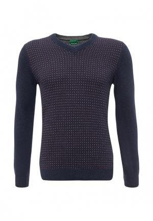 Пуловер United Colors of Benetton. Цвет: синий