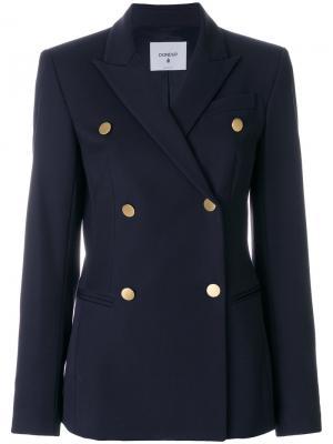 Двубортный пиджак Dondup. Цвет: синий