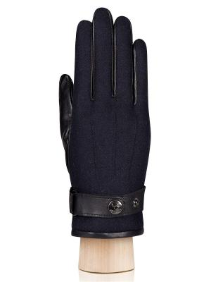 Перчатки Eleganzza. Цвет: синий, черный