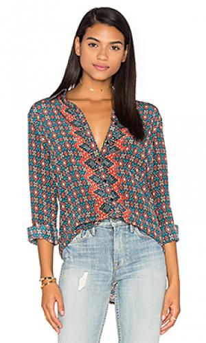 Рубашка hayden Tolani. Цвет: синий
