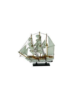 Модель корабля Русские подарки. Цвет: коричневый, белый