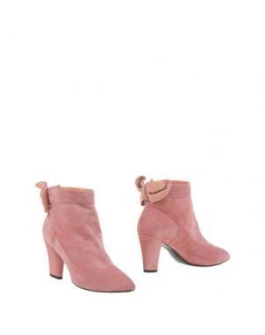 Полусапоги и высокие ботинки MARC JACOBS. Цвет: пастельно-розовый
