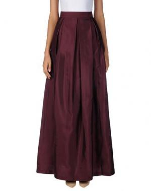 Длинная юбка RAOUL. Цвет: баклажанный