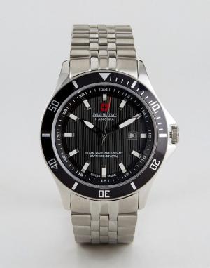 Swiss Military Часы Hanowa. Цвет: серебряный
