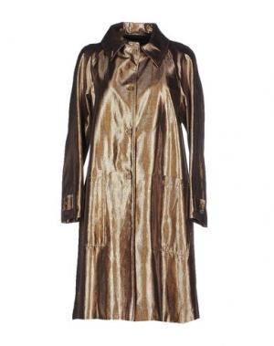 Легкое пальто LES PRAIRIES DE PARIS. Цвет: золотистый