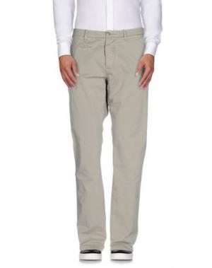 Повседневные брюки UNIFORM. Цвет: светло-серый