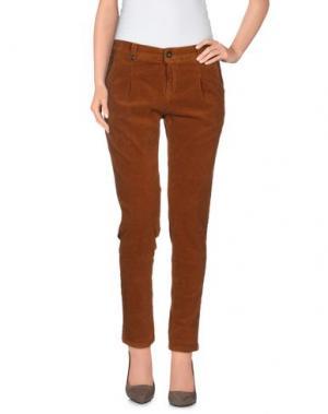 Повседневные брюки REIKO. Цвет: коричневый