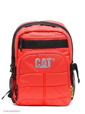 Рюкзак Caterpillar. Цвет: красный