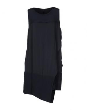 Короткое платье SILENT DAMIR DOMA. Цвет: грифельно-синий