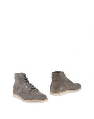 Полусапоги и высокие ботинки FABIANO RICCI. Цвет: серый