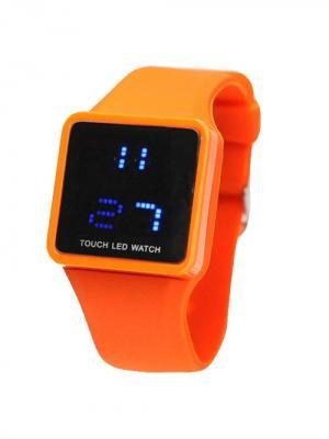 Часы Leg (оранжевые) Kawaii Factory. Цвет: оранжевый