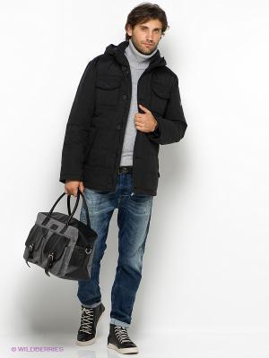 Куртка Finn Flare. Цвет: черный