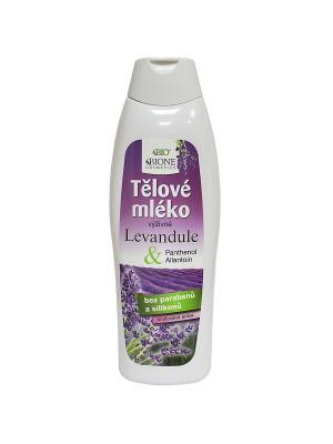 Молочко для тела ЛАВАНДА 500 мл. BioBione. Цвет: белый