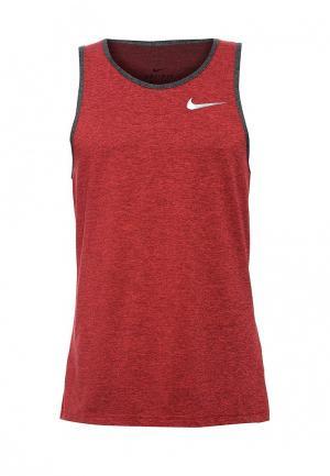Майка Nike. Цвет: красный
