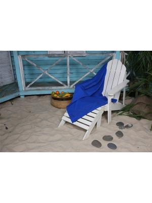 Полотенце пляжное WAFFLE СПА 90*160 цв. синий TOALLA. Цвет: синий