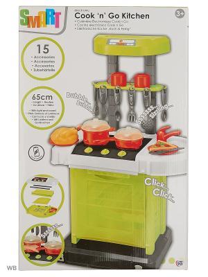 Электронная портативная кухня Smart со звуковыми эффектами с аксс. HTI. Цвет: черный, зеленый, коралловый, оранжевый, белый