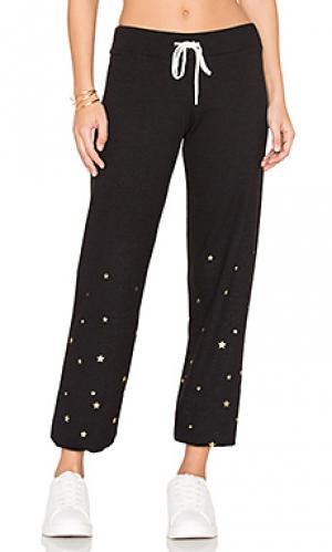 Классические спортивные брюки MONROW. Цвет: черный