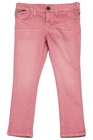 Джинсы Tommy Hilfiger. Цвет: розовый