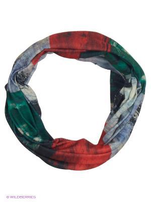 Мультишарф ARFUGIX. Цвет: зеленый, красный, белый