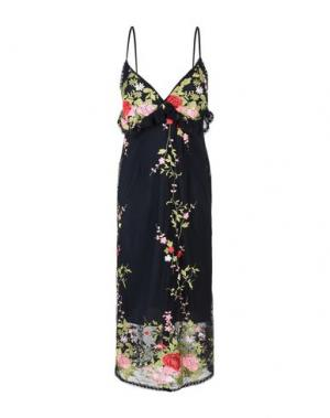Платье длиной 3/4 NORA BARTH. Цвет: черный