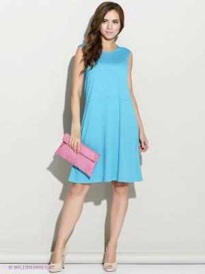 Платье Stets. Цвет: голубой