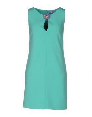 Короткое платье 22 MAGGIO BY MARIA GRAZIA SEVERI. Цвет: зеленый