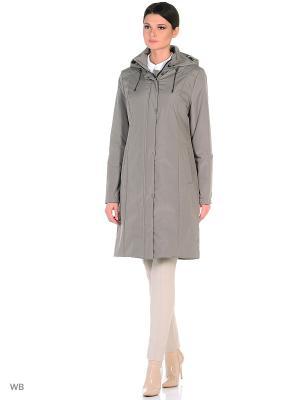 Пальто NANNA Maritta. Цвет: серо-коричневый