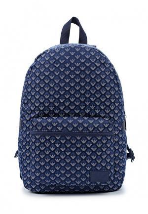 Рюкзак Armani Junior. Цвет: синий