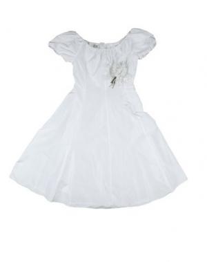 Платье CAF. Цвет: белый