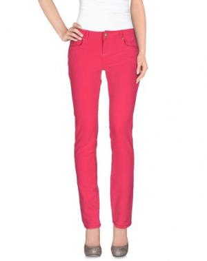 Повседневные брюки CHARAPA. Цвет: фуксия