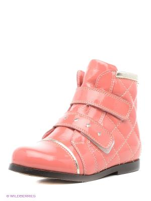 Ботинки San Marko. Цвет: коралловый
