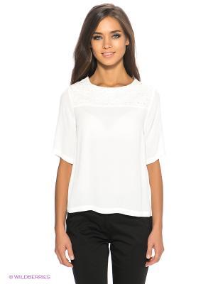 Блузка New Look. Цвет: белый
