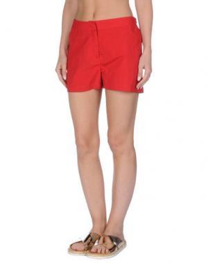 Пляжные брюки и шорты ORLEBAR BROWN. Цвет: красный