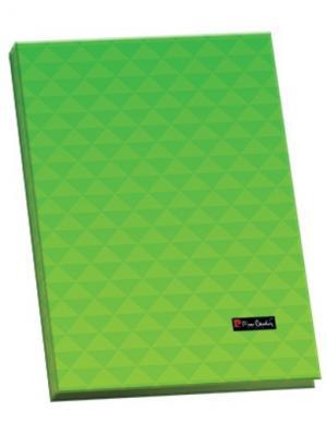 Папка ламинированная Geometrie Green с металлическим прижимом. Pierre Cardin. Цвет: зеленый
