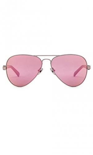 Солнцезащитные очки concorde 14 WESTWARD LEANING. Цвет: металлический серебряный