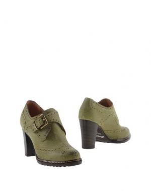 Ботинки F.LLI BRUGLIA. Цвет: кислотно-зеленый